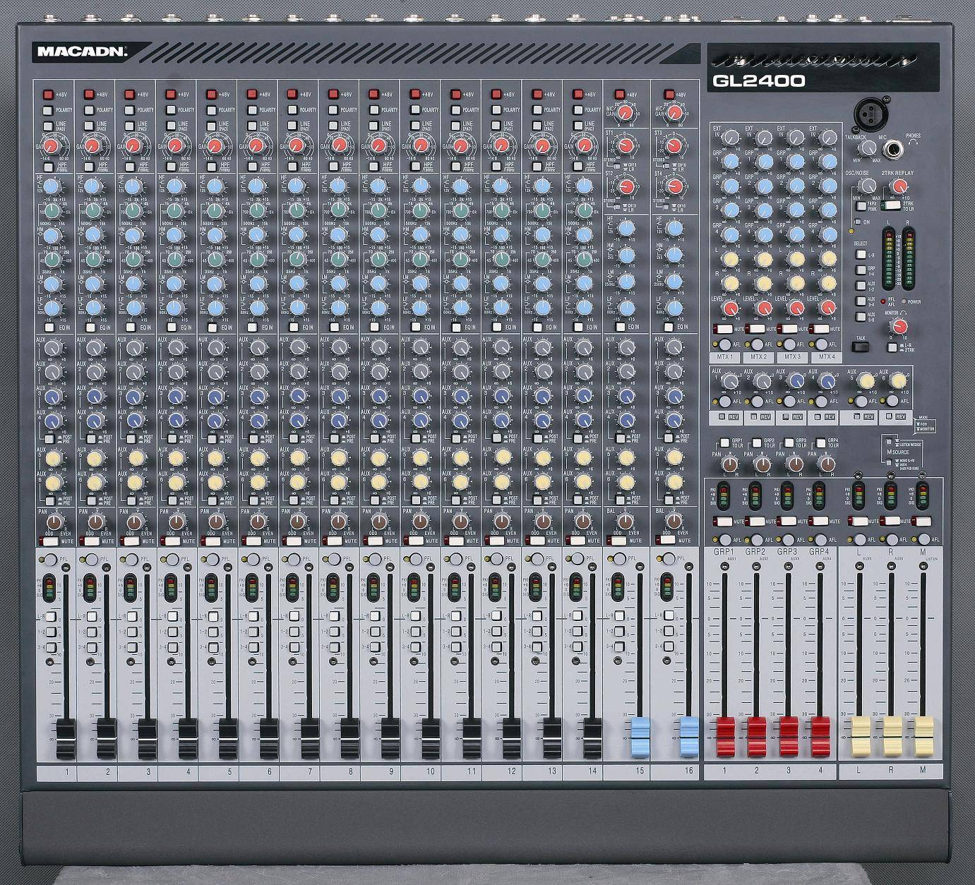 16/24/32/40 channel mixer GL2400-16
