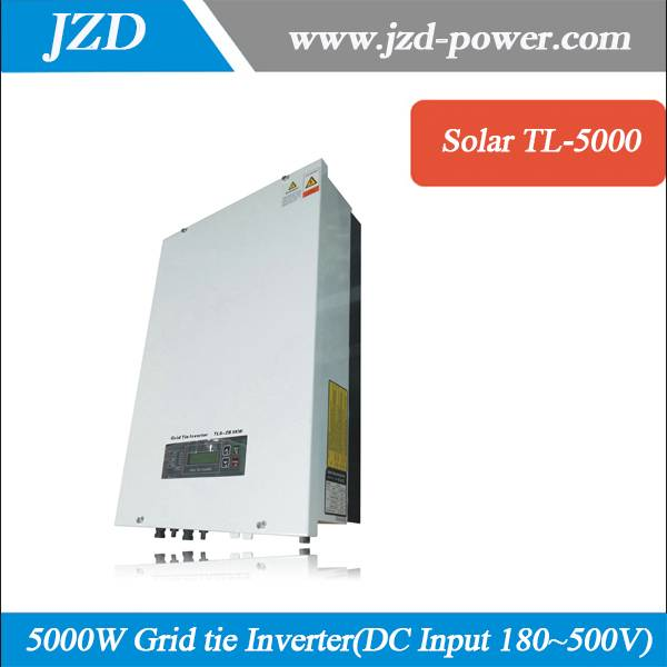 Hot Sale 5000W/5KW Solar Grid tie Inverter with Pure sine Wave