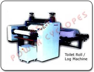 Asian Toilet Rolls Making Machine