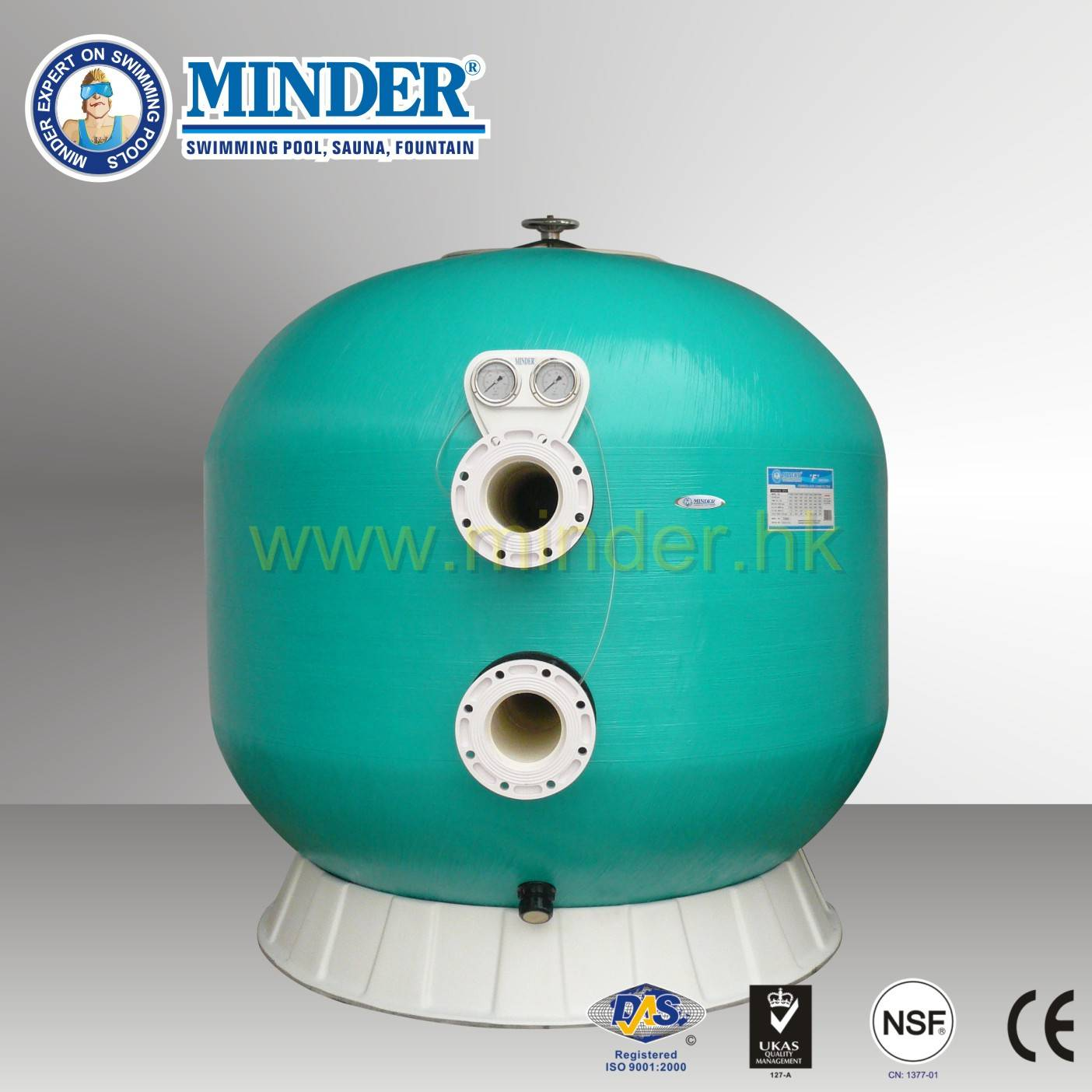 Firberglass Swimming Pool Sand Filter