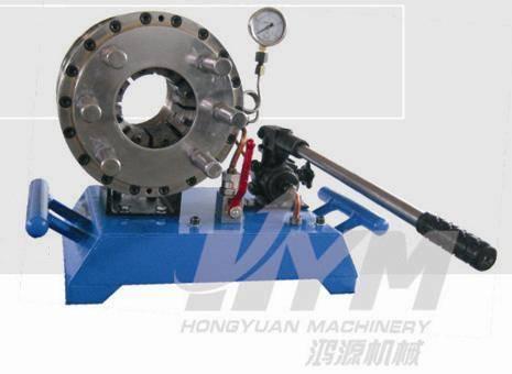 manual pipe locking machine