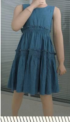 2016 fashion korean style kid dress baby dress girl dresses