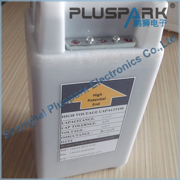 High Voltage Capacitor 40kV 0.3uF 300nF