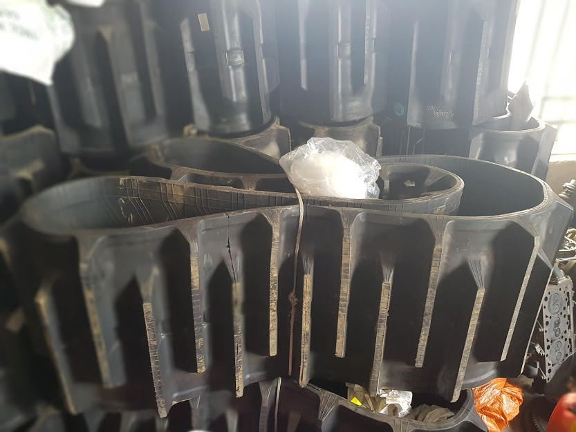 Rubber track for DC70 Kobuta Harvester