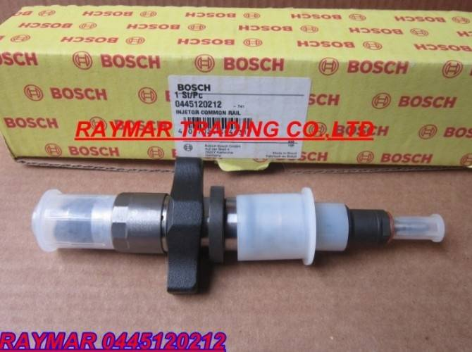 Bosch common rail injector 0445120212 for Cummins ISBE 4940460/2830957