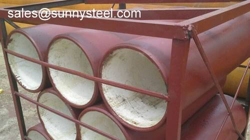 Ceramic Tile Lined Steel Pipes