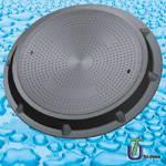 SMC Composite Manhole Cover (Clear Open 800mm A50, B125, C250, D400)