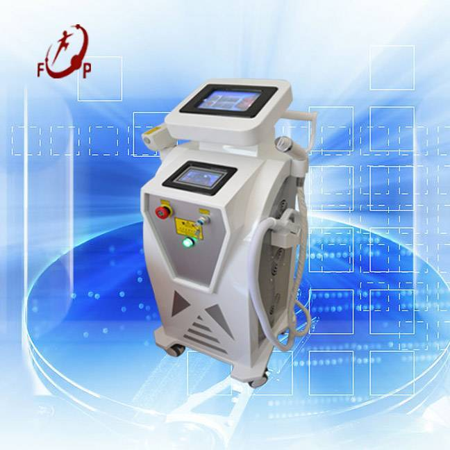ND Yag laserTattoo Removal IPL/OPT Hair Removal RFWrinkle Removal 3in1 Beauty Machine
