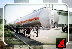 Aluminum Alloy Fuel Tanker Semi-Trailer