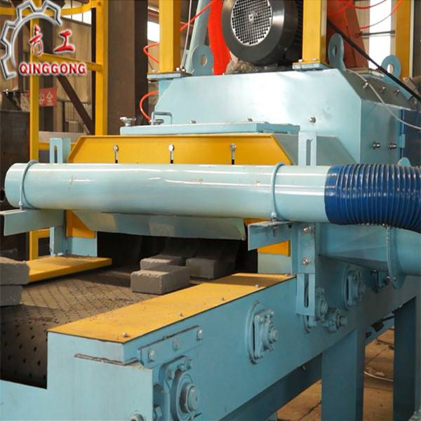 Marbles and Stones Roller Conveying Shot Blasting Machine