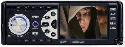 BLACK 3.5 TFT LCD CAR DVD PLAYER DIVX ANALOG TV FM AM