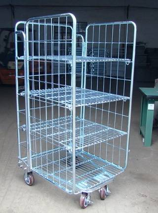 Mesh Table Trolley