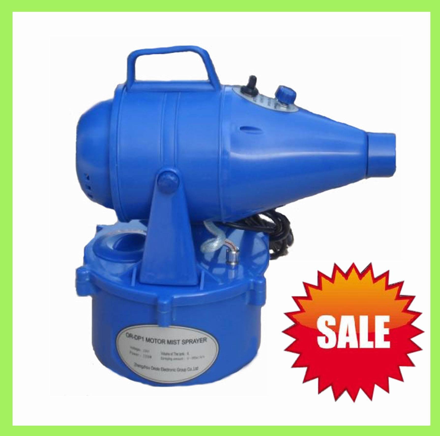Ultra low volume sprayer for sterilization ,garden equipment