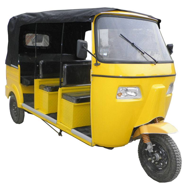 3Rows Bajaj Tricycle with rear hydraulic shock absorber