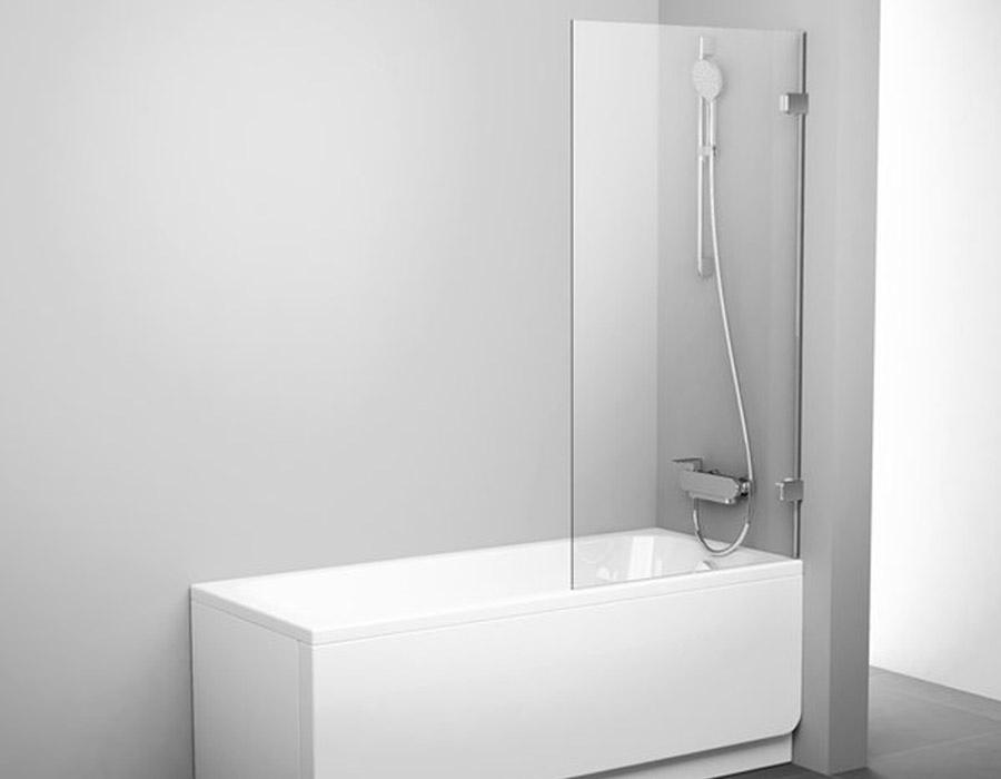 One Part Fixed Bathtub Screen, AB 5015