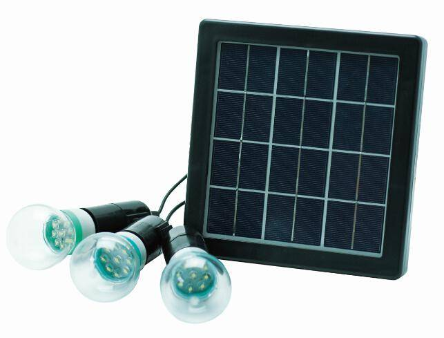 4W solar power panel supply system solar panel led bulbs outdoor Camping lamp Emergency light