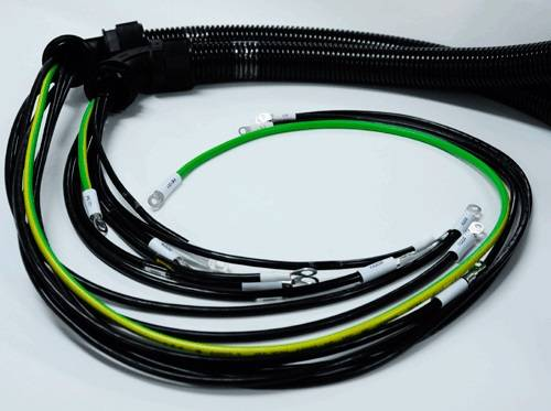 Compound Power Cable(Cable harness)