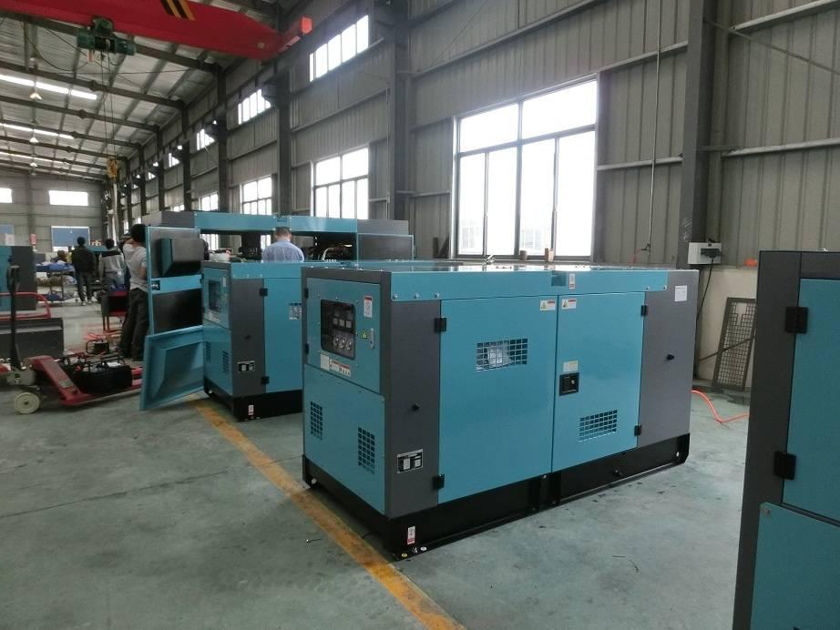 China Manufacturer 80kw Silent Electricity Generator Set
