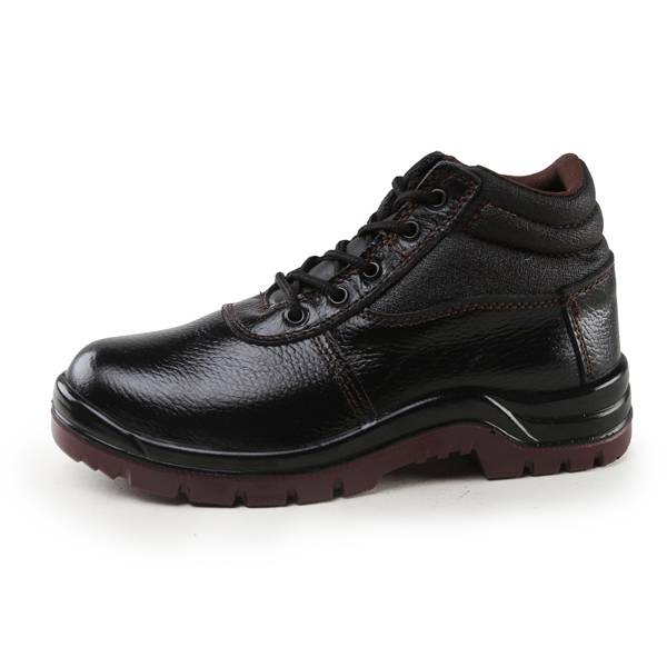 Dual Doubble Density /PU Injection/Outsole PU Black Safety Shoes