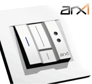 ARX1 fingerprint reader - access control for houses, apartments and offices