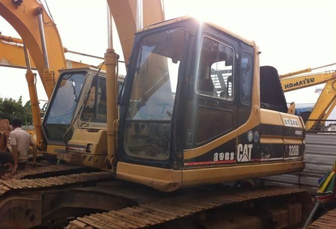 Used excavator CAT320B