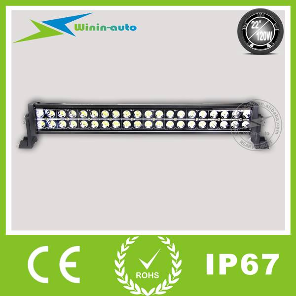 22 120W Double Row Cree LED Work Light Bar for off-road ATV SUV 7900 Lumen WI9021-120