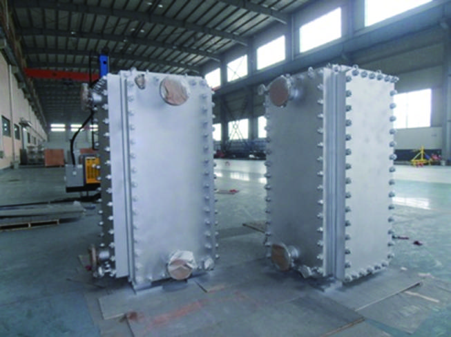 Fully-welded Plate Heat Exchanger