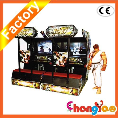 amusement fighter cabinet game machine