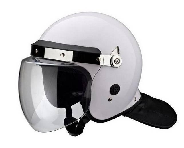 police anti- riot helmet