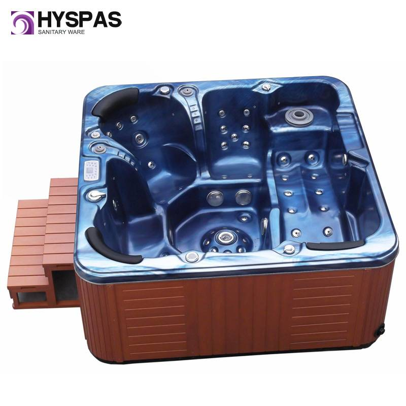 CE & Balboa European Popular Style 5 Seats Jacuzzi Outdoor SPA (HY-6502)