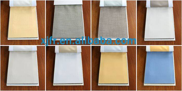The fine imitation linen permanent flame retardant fabric shading fabric shading cloth Flame retard