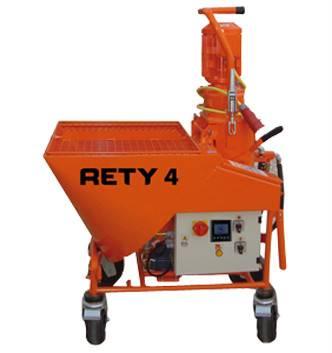 Rety 4 - plastering machine