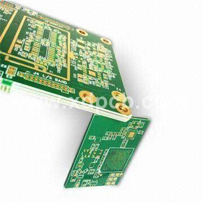 High-density Multilayer PCB With 1.6mm Finish Thickness And 0.2mm Minimum Diameter