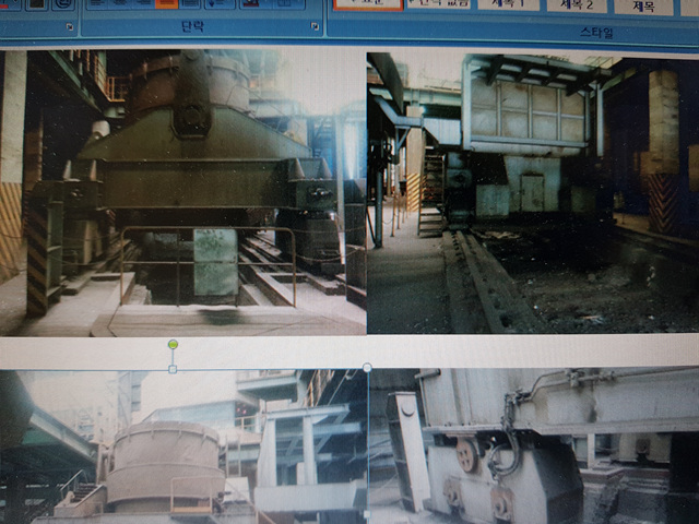 used ladle furnace ( 150 tons) for sale
