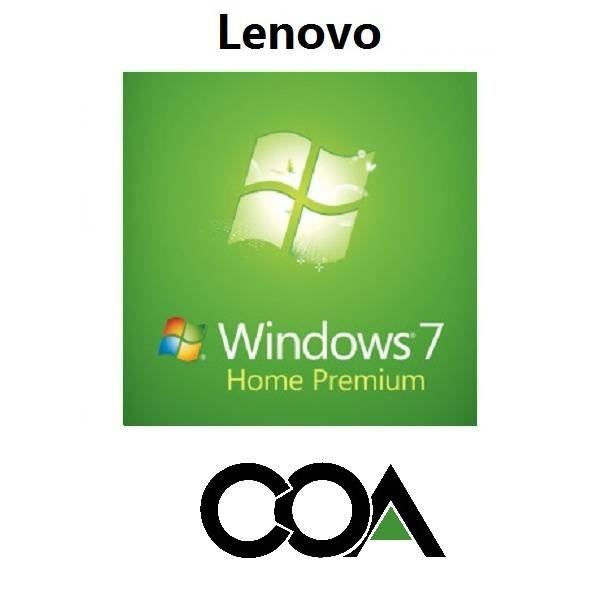 Microsoft Windows 7 Home Premium OA Lenovo COA Sticker