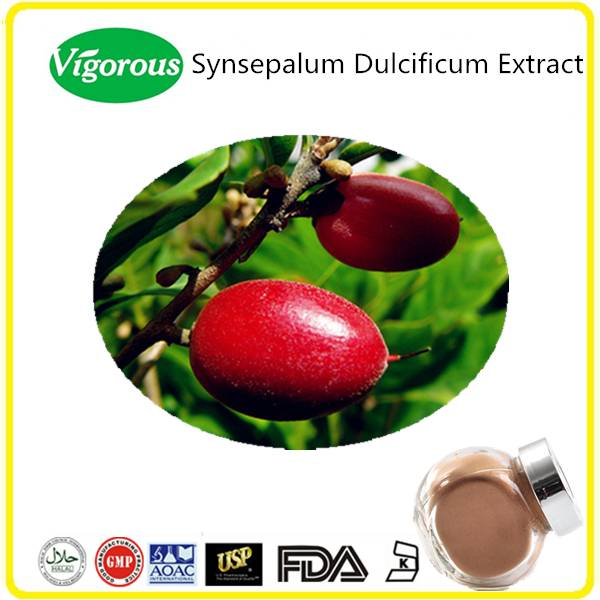 Free Sample Miracle Berry Extract, Miraclefruit Extract Powder, Synsepalum Dulcificum Powder