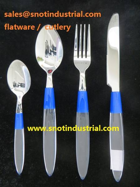 24PCS FLATWARE WITH COLOR BOX PACKING ST6613