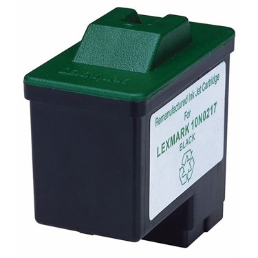 Remanufactured Black Inkjet Cartridge for LEXMARK 10N0217 BK