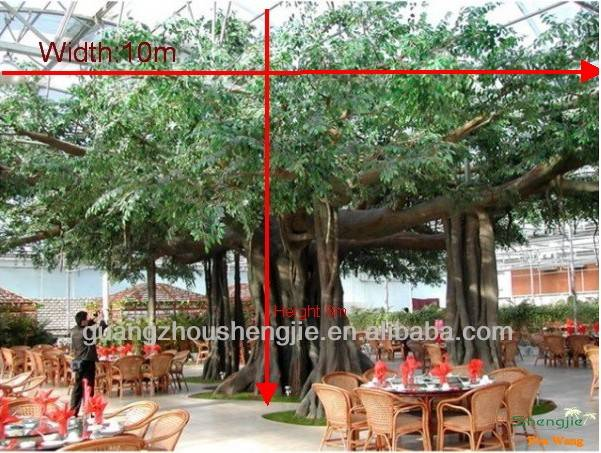 huge decoration tree artificial banyan tree(fro resurantn or shop)