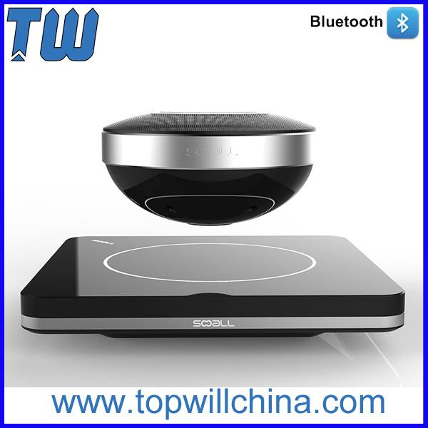 Noble Fashion Magnetic Suspension Bluetooth Speaker Levitation Design