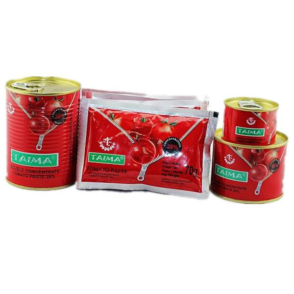 Tomato paste for Nigeria market production line