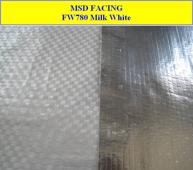 manufacturer of Aluminum Foil Laminated to PP Woven Fabric (FW780)