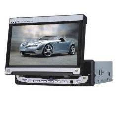 7 Manual In Dash LCD Monitor TV FM/AM Built-in DVD Player