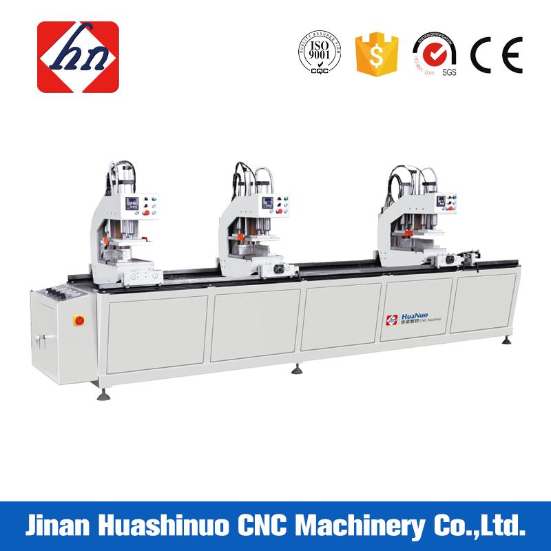 Three Head Welding Machine for UPVC Profile