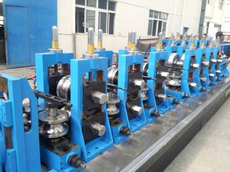 ASTM A500 standards tube machine