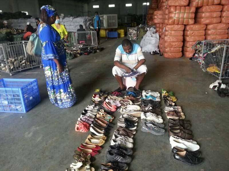 used clothing ,used shoes exporter