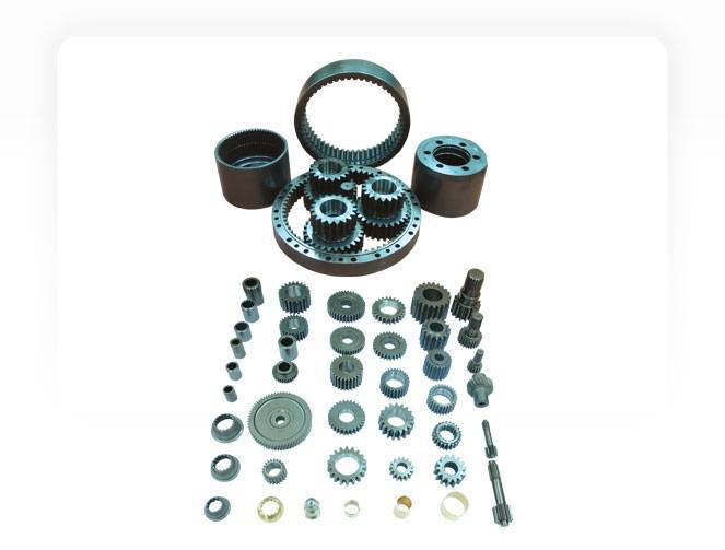 Parts for reduction gear driving