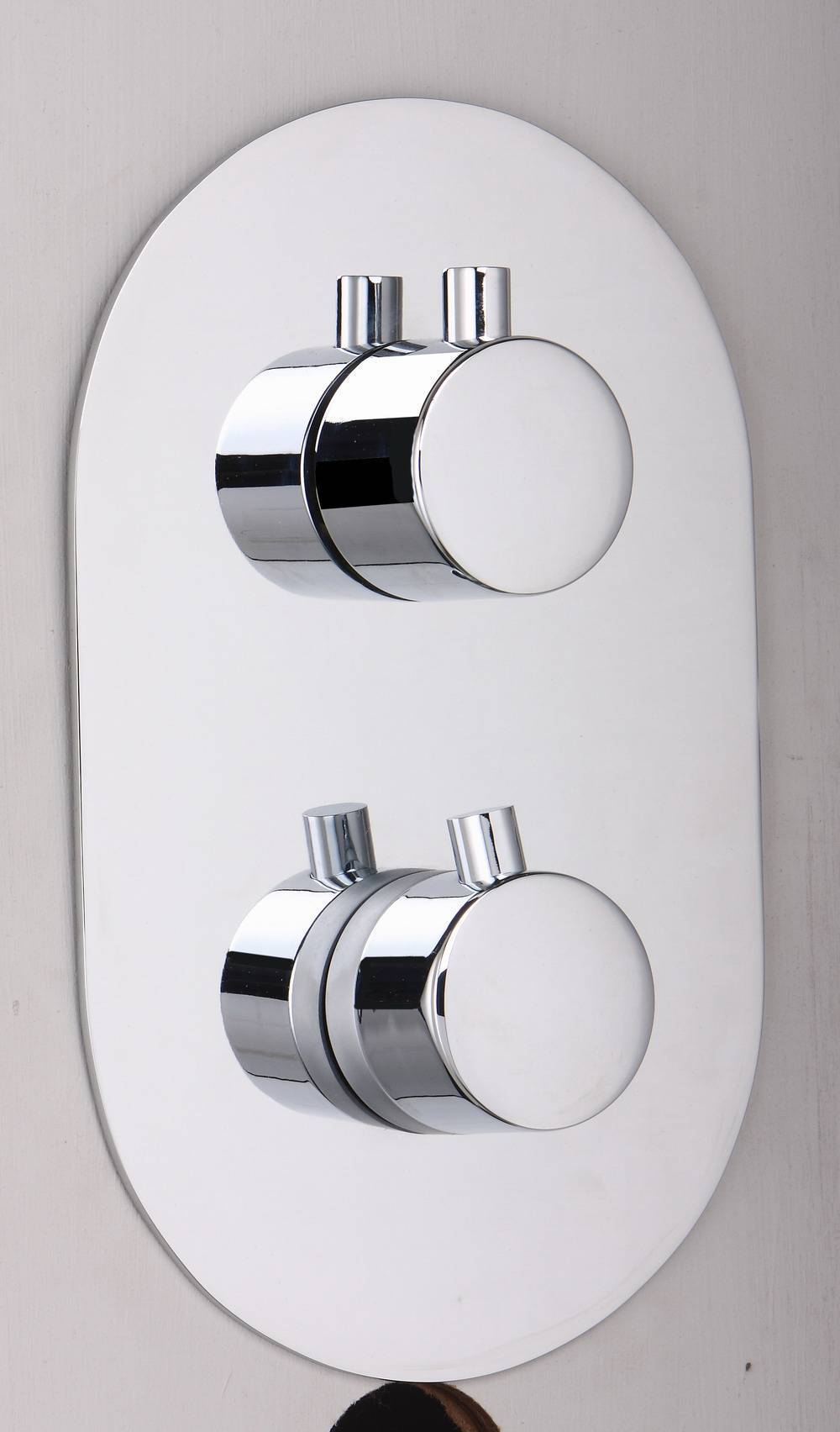 brass thermostatic shower faucet