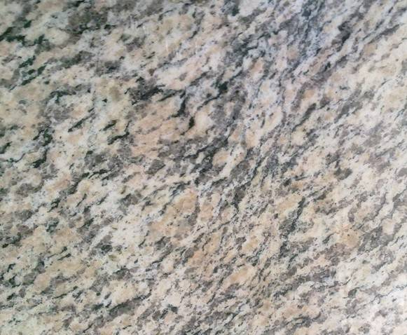 Tiger skin rusty granite tile
