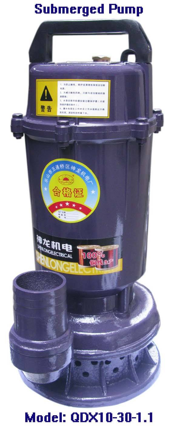 Electric Submered Pump-QDX10-30-1.1